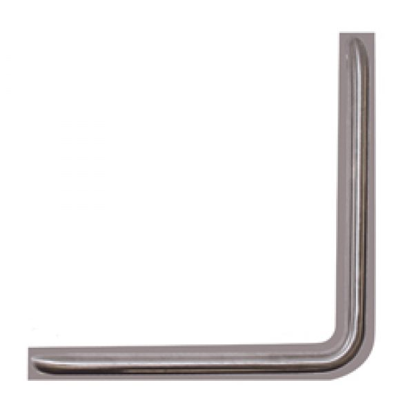 Anti Ligature 450x450mm WC Grab Rail - SSS